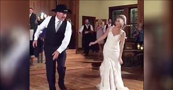 Father-Daughter Wedding Dance Has Surprise Ending