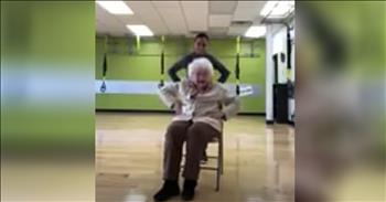 93-Year-Old's Workout Routine Is Amazing