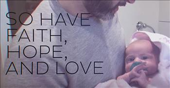 'Faith Hope Love Repeat' - Brandon Heath Song For Daughter