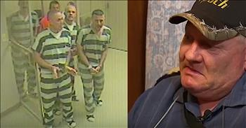 Guard Tears Up Over Inmates That Saved His Life