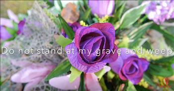 Children's Choir Sings 'Do Not Stand At My Grave And Weep'
