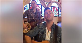 2 Men Perform Acoustic Rendition Of 'Because He Lives'