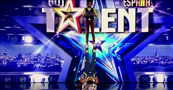 Acrobatic Brothers Golden Buzzer Audition