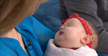 Police Officer Adopts Baby