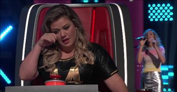 Judge Tears Up After Audition With Her Song