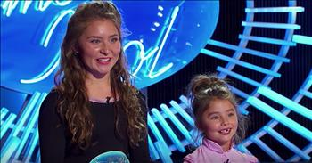 16-Year-Old Brings Little Sister To Audition