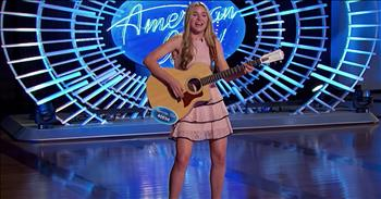 Contestant Redeems Herself After 'The Worst' Anthem Performance