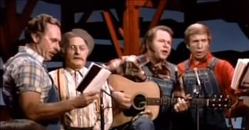 Hee Haw Gospel Quartet - 'There's Power in the Blood'