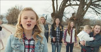 Children's Choir Sings 'I Can Only Imagine'