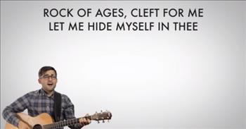 Rock of Ages Hymn - Jason Waller Performs + Lyrics