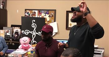 A Cappella Rendition Of 'Open The Eyes Of My Heart Lord'