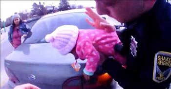 Body Cam Shows Rescue Of Choking 2-Month-Old
