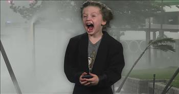 6-Year-Old Weatherman Shares Adorable Forecast