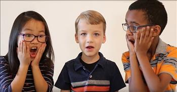 3 Siblings Tell Cute Version Of The Easter Story