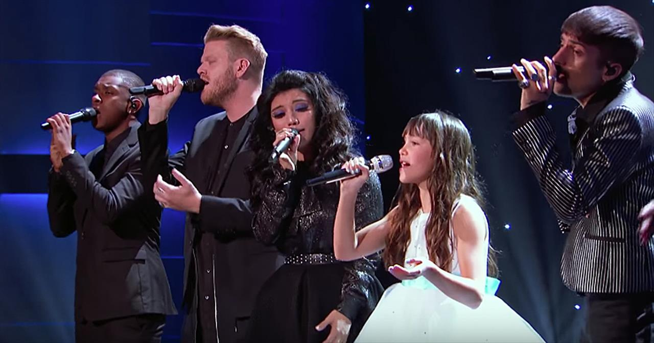 11-Year-Old Irish Singer Performs 'Hallelujah' With Pentatonix -  Inspirational Videos