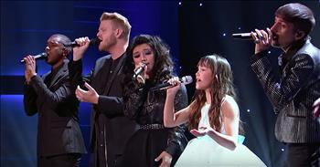 11-Year-Old Irish Singer Performs 'Hallelujah' With Pentatonix
