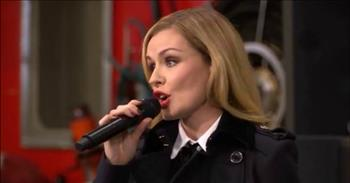 'I Vow To Thee My Country' - Katherine Jenkins at Ceremony Commissioning Aircraft Carrier HMS Queen Elizabeth