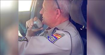 Trooper Makes Tear-Filled Last Radio Call