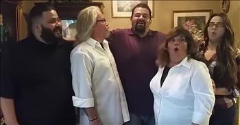 Parents React To Surprise Pregnancy Reaction