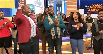 Gospel Choir Takes Morning Show Audience To Church
