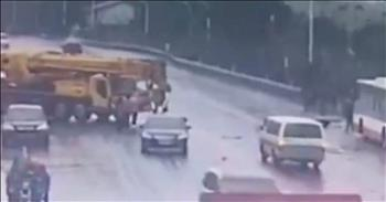 1 Man Saves Passengers In Water After Bus Accident