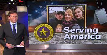 Gold Star Families Build Home To Honor Loved Ones