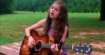 14-Year-Old Country Singer Performs Eagles' Cover