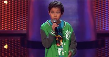 10-Year-Old Auditions For The Mom He Lost