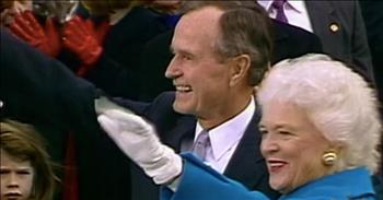 Barbara Bush And George H.W. Bush Love Story