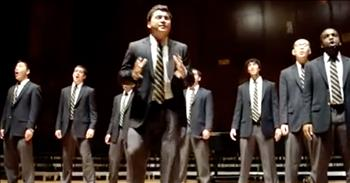 A Cappella Group Leaves The Crowd Laughing