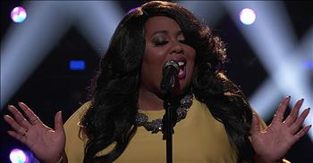 Contestant Sings 'How Great Thou Art' On Live Television