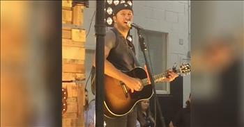 Luke Bryan Spots Old Neighbor In Concert Crowd