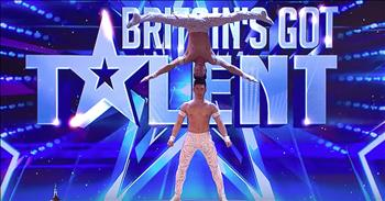 Brothers Perform Death-Defying Acrobatic Audition