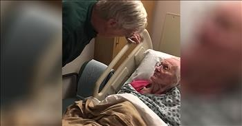 Elderly Couple Reunite After 4 Years Apart