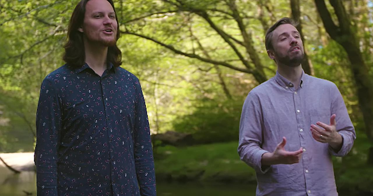 A Cappella Voices Sing 'Bridge Over Troubled Water'
