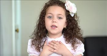 5-Year-Old Sings 'Tomorrow' From Annie