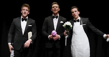 Gentlemen Trio Perform Classic Love Song Medley