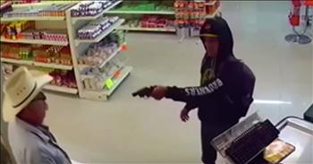 Cowboy Single-Handedly Stops Armed Robber