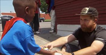 4-Year-Old Gives Up Allowance To Help Homeless