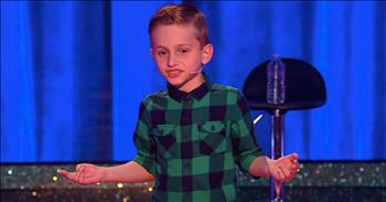 Pint-Sized Comedian Has The Audience Laughing