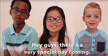 3 Adorable Kids Share A Mother's Day Message