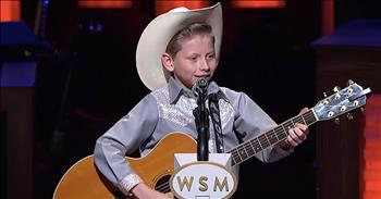 Viral Yodeler Sings 'Lovesick Blues' At The Grand Ole Opry