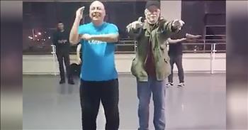 Grooving Grandpas Show Off Dance Moves