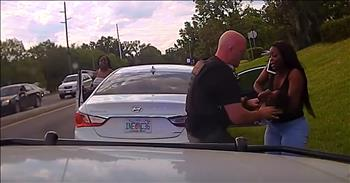 Dash Cam Captures Cop Saving Unresponsive 3-Month-Old
