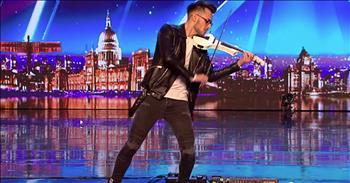 Violinist Puts Modern Twist On Classic Instrument