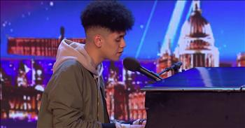 20-Year-Old Dedicates Audition To His Father