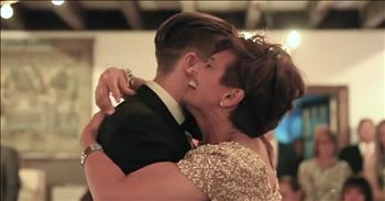Mom With MS Dances With Son At His Wedding