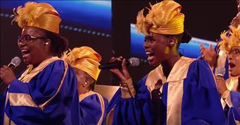 Gospel Choir Takes The Judges To Church