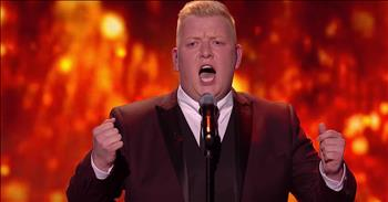 Opera Singer Hits High Notes With Fiery Audition