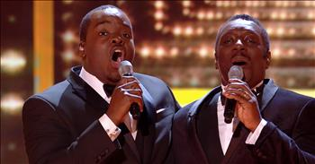 2 Crooners Sing Frank Sinatra's 'That's Life'
